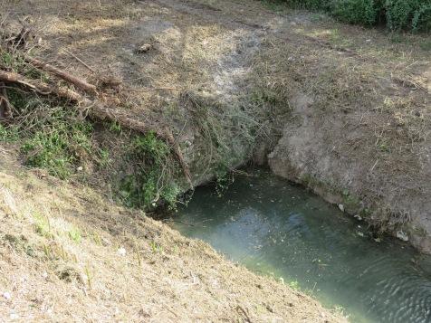 la botte dei mulini a pontebari, in sinistra marroggia
